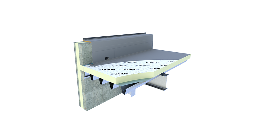 Wonderlijk Isolatie plat dak | UNILIN Insulation EH-18