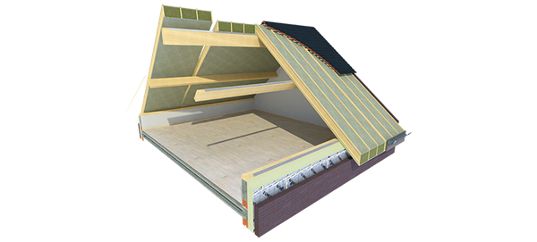 Usystem Roof DS Mineral Wool