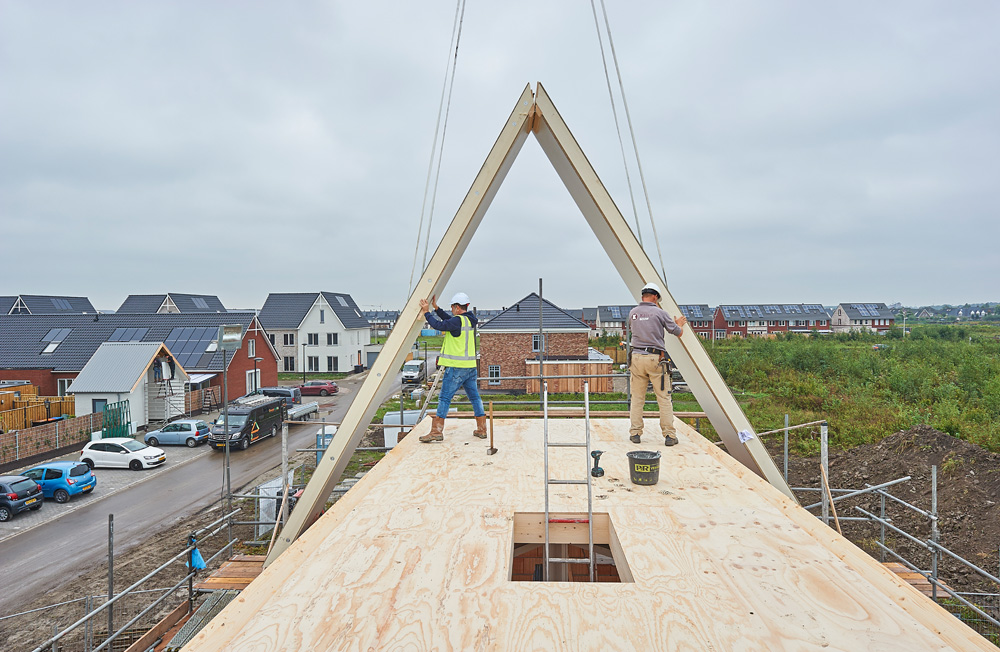Usystem roof pr fas project dronten